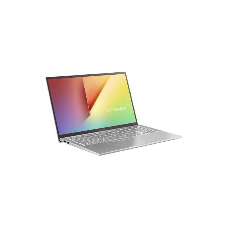 "ASUS X512UA-EJ258T, i3-7020U, 4GB, 256GB SSD, 15.6"" FHD, UMA, Win10 Home, Plastic Transparent Silver"