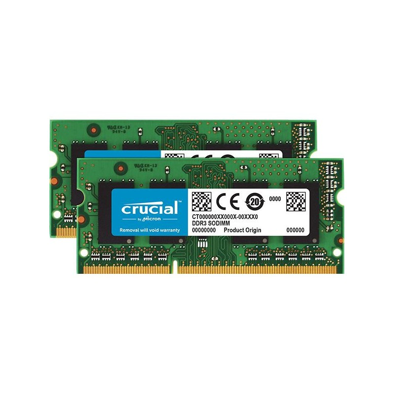 CRUCIAL Apple/MAC 8GB (2x4GB)/DDR3 SO-DIMM/1066MHz CT2K4G3S1067M
