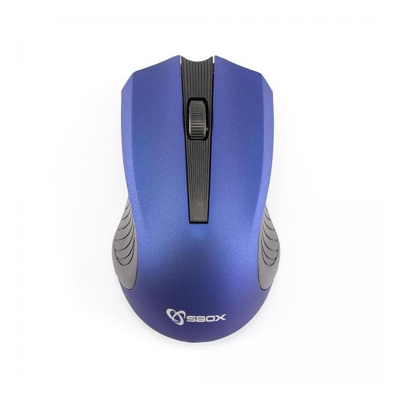SBOX 4D Optická bezdrôtová myš Blue WM-373BL