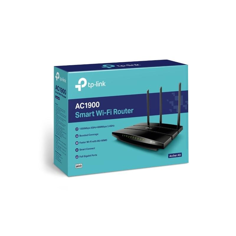 TP-Link Archer A9 AC1900 Wireless MU-MIMO Gigabit ARCHER A9