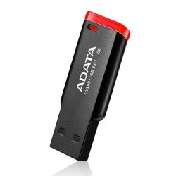 32 GB USB kľúč ADATA DashDrive Classic UV140 USB 3.0, čierno-červený AUV140-32G-RKD