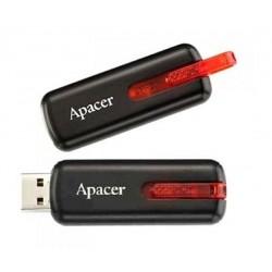 Apacer flash disk 16GB AH326 USB 2.0 čierny AP16GAH326B-1