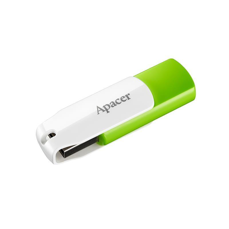 Apacer flash disk 16GB AH335 USB 2.0 zelený AP16GAH335G-1