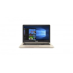 """ASUS VivoBook Pro N580GD-FI105T Intel i7-8750H 15.6"""" UHD matný GTX1050-4GB 16GB 256GB WL BT Cam W10 zlaty"""