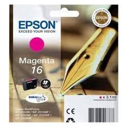 kazeta EPSON WF2520/2530/2540/2750 T162 Magenta 16 C13T162340
