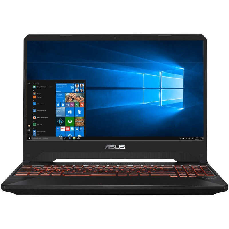 "ASUS TUF Gaming FX505GM-BQ335T Intel i7-8750H 15.6"" FHD IPS leskly GTX1060/6G 16GB 512GB SSD WL BT Cam W10 CS"