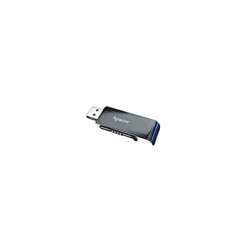 Apacer flash disk 32GB AH350 USB 3.0 čierna AP32GAH350B-1