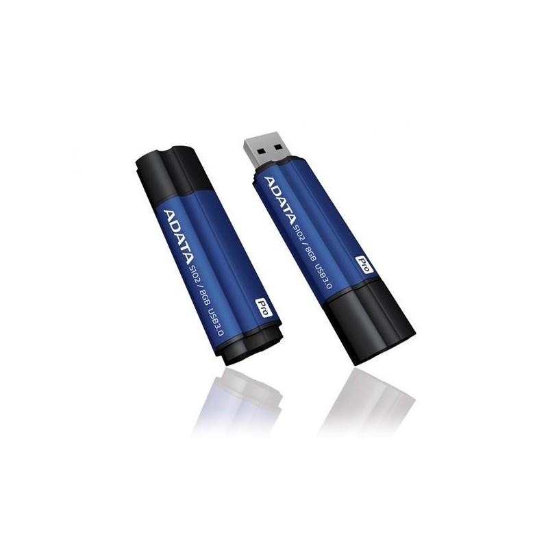 16 GB USB klúč ADATA DashDrive Elite Superier S102 PRO, USB 3.0, modrý AS102P-16G-RBL
