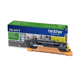 Brother - TN-247Y, Yellow toner (až 2 300 stran) TN247Y