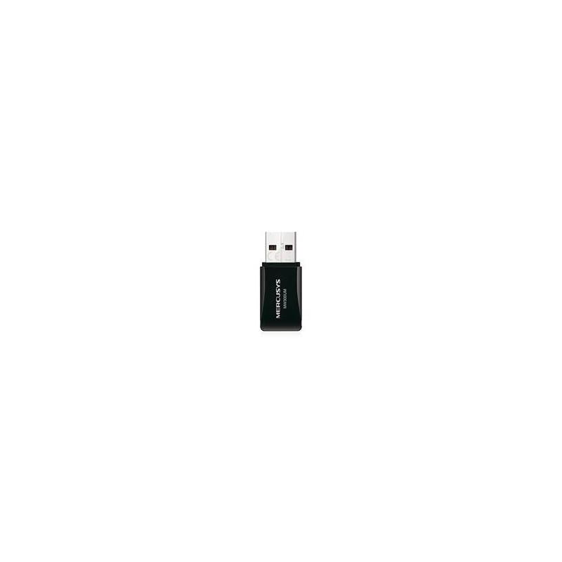 MERCUSYS MW300UM, 300Mbps Wireless N Mini USB Adapter, Mini Size, USB 2.0