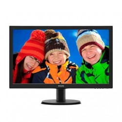 "Philips 243V5LSB/00 23.6"" LED 1920x1080 10 000 000:1 5ms 250cd DVI cierny"