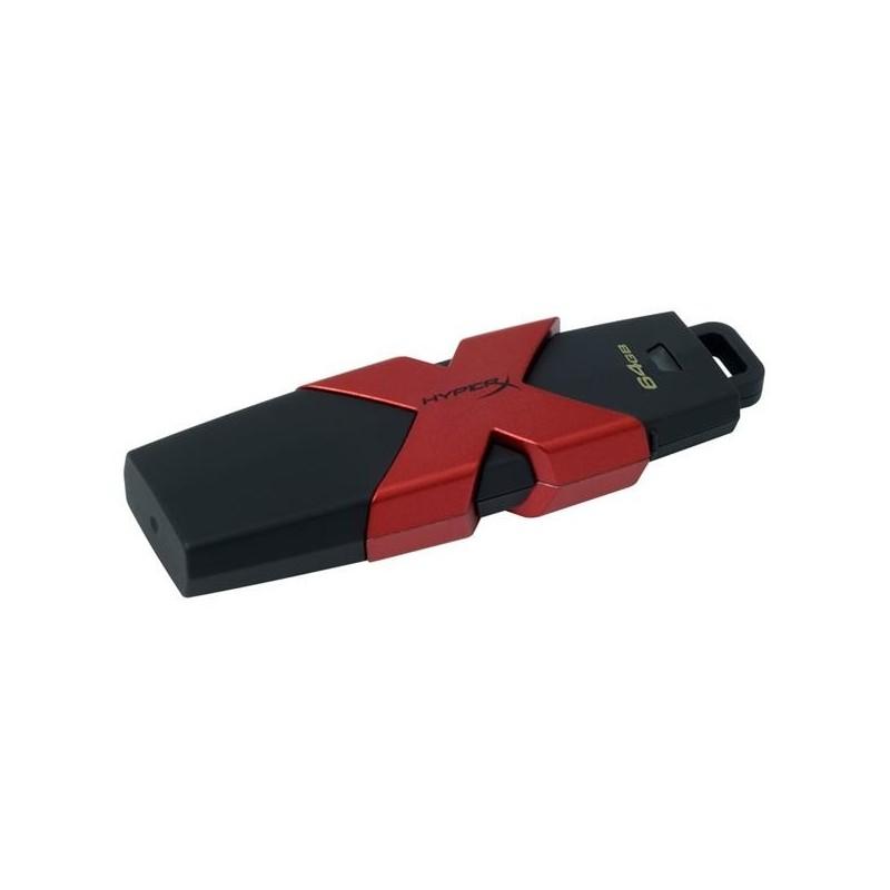64 GB USB 3.1 klúč DataTraveler HyperX Savage 3.1/3.0 ( r350MB/s, w180MB/s ) HXS3/64GB