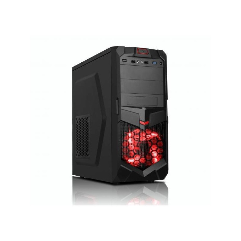 Prestigio Gamer i5-8400 (2,8G) GTX1050Ti 8GB 1TB DVDRW DVI HDMI DP USB3 KLV+MYS bez OS PSG848D1T1050N