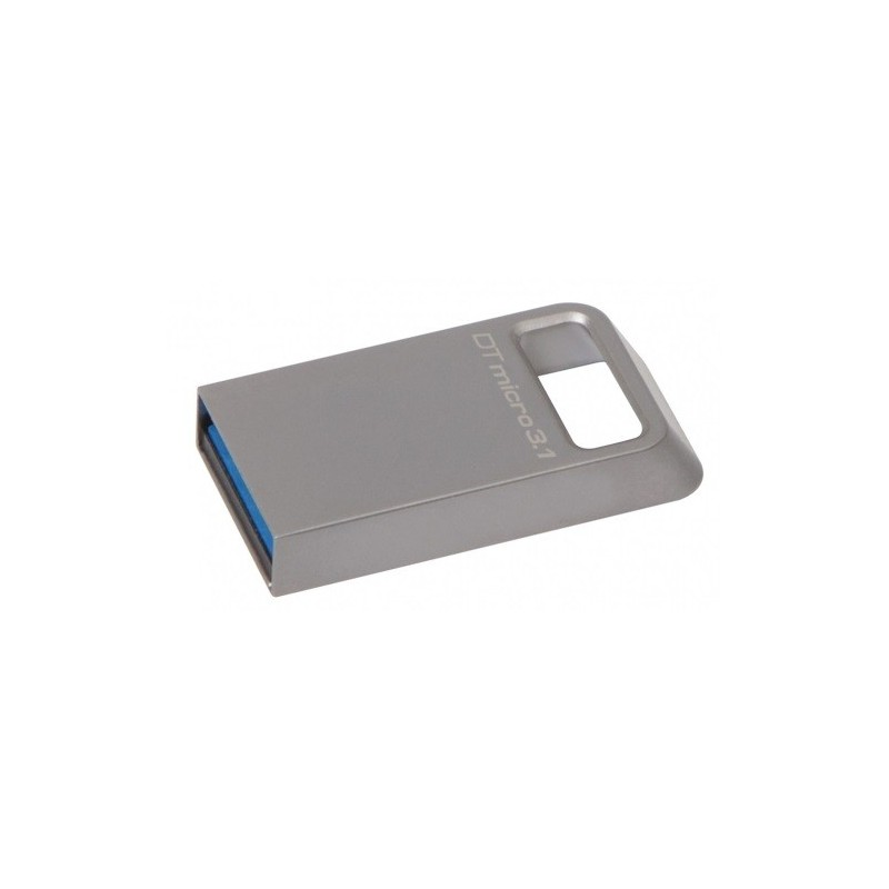 USB kľúč 64 GB Kingston DataTraveler Micro USB 3.1/3.0 ( r100MB/s, w15MB/s ) DTMC3/64GB