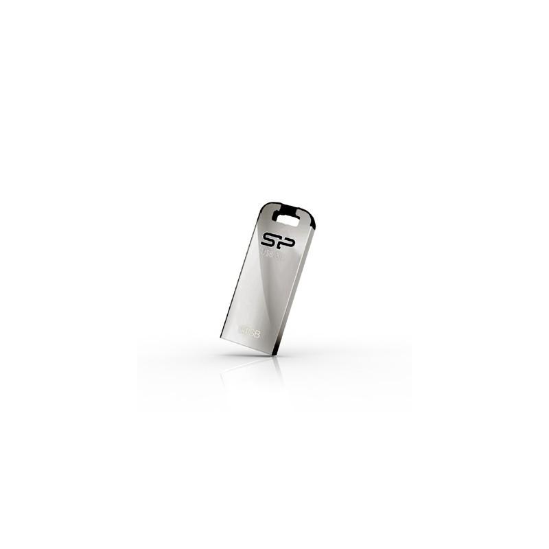 32 GB USB 3.0 kľúč . Silicon Power JEWEL J10, strieborný (odolný voči vode, prachu a nárazom) SP032GBUF3J10V1K