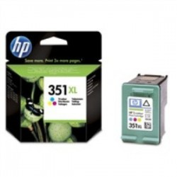 HP CB338EE Ink Cart No.351XL pro OJ 5780, 5785, 14ml, Color...
