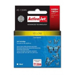ActiveJet ink cartr. Eps T1304 Yellow 100% NEW - 18 ml AE-1304N EXPACJAEP0210