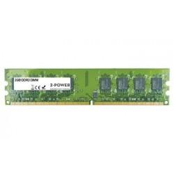 2-Power 2GB PC2-6400U 800MHz DDR2 Non-ECC CL6 DIMM 2Rx8 ( DOŽIVOTNÍ ZÁRUKA ) MEM1302A