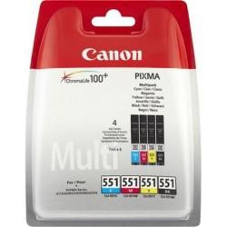 Canon cartridge CLI-551 C/M/Y/BK PHOTO VALUE sec 6508B006