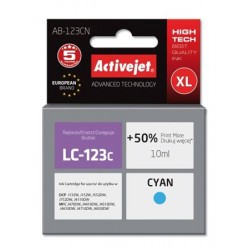 ActiveJet ink Brother LC123 / LC125 Cyan AB-123CN 10 ml EXPACJABR0039