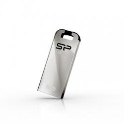 16 GB USB 3.0 kľúč . Silicon Power JEWEL J10, strieborný (odolný voči vode, prachu a nárazom) SP016GBUF3J10V1K
