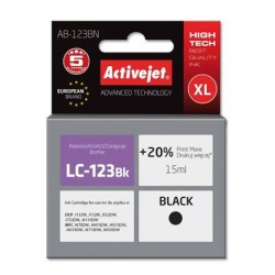 ActiveJet ink Brother LC123 / LC125Bk AB-123BN 15 ml EXPACJABR0038