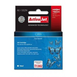 ActiveJet ink cartr. Eps T1302 Cyan 100% NEW - 18 ml AE-1302N EXPACJAEP0208