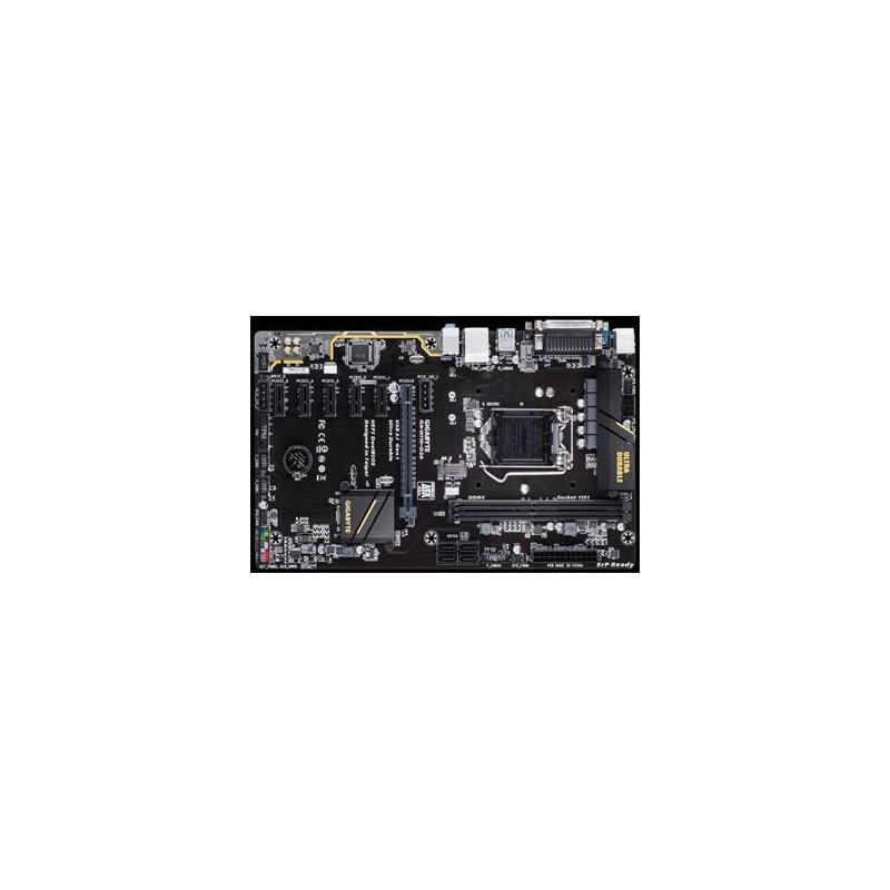 GIGABYTE MB Sc LGA1151 H110-D3A, Intel H110, 2xDDR4, D-SUB, LPT, COM, PS2