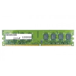 2-Power 1GB PC2-5300U 667MHz DDR2 Non-ECC CL5 DIMM 1Rx8 MEM1201A