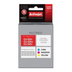 ActiveJet ink Canon CLI-521 remanufactured AC-M521R 3x10 ml EXPACJACA0128