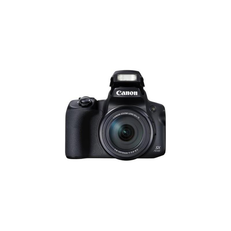 Canon PowerShot SX70 HS Black - 20MP, 65x zoom, 21-1365mm, 4K Ultra HD 3071C002