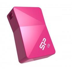 8 GB USB kľúč . Silicon Power Touch T08, ružový (odolný voči vode, prachu a nárazom) SP008GBUF2T08V1H
