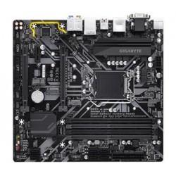 GIGABYTE MB Sc LGA1151 H370M D3H GSM, Intel H370, 4xDDR4, VGA, mATX