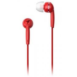GENIUS HS-M320 /sluchátka s mikrofonem/ 3,5mm jack - 4 pin/ červený 31710005415