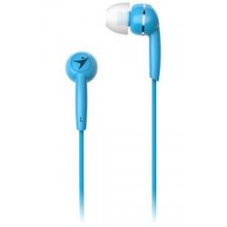 GENIUS HS-M320 /sluchátka s mikrofonem/ 3,5mm jack - 4 pin/ modrý...
