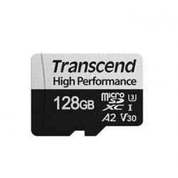 Transcend 128GB microSDXC 330S UHS-I U3 V30 A2 (Class 10) paměťová...