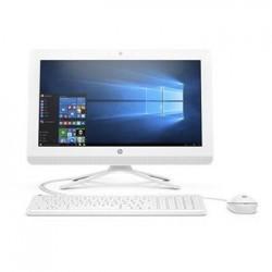 """HP AIO 20-c406nc/19,5"""" FHD WLED AG/Celeron J4005/4GB/1TB/UHD 600/DVDRW/Win 10 Home/Snow - white 4JX37EA#BCM"""