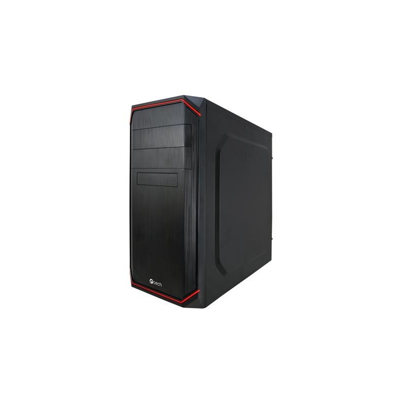 C-TECH PC skříň, miditower OC-06 ATX bez zdroje