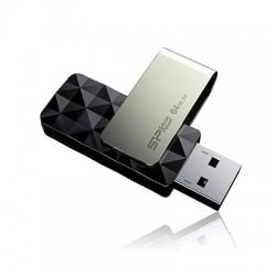 16 GB USB 3.0 kľúč . Silicon Power BLAZE B30, čierny (1 strana prázdna, vhodné na potlač) SP016GBUF3B30V1K