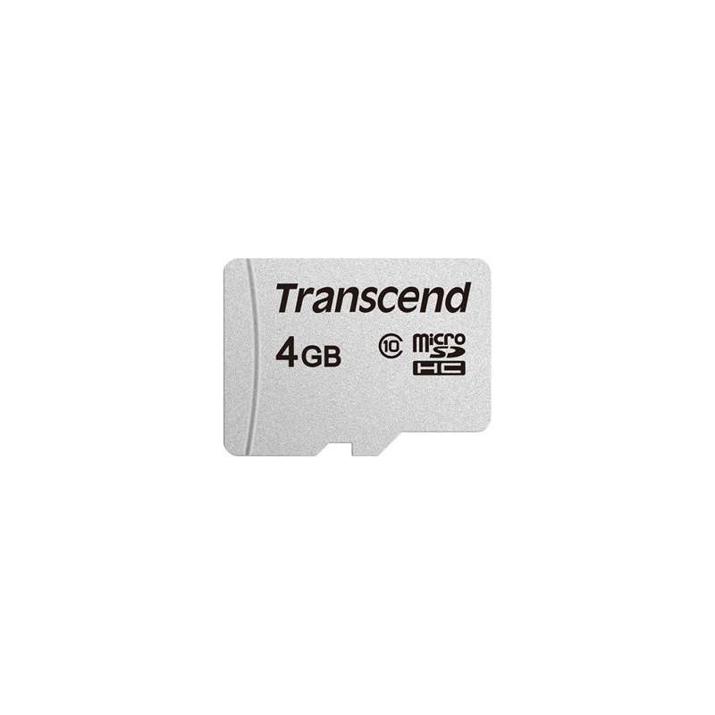 Transcend 4GB microSDHC 300S (Class 10) paměťová karta TS4GUSD300S