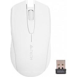 A4tech G3-760N W , V-track, bezdrátová optická myš, 2.4GHz, 10m dosah, USB, bílá