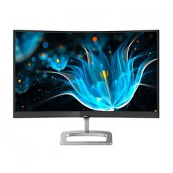 "Philips LCD 248E9QHSB/00 23,6"" 16:9 VA Curved/1920x1080@75Hz/20M:1/4ms/250 cd/m2 /D-Sub/HDMI"