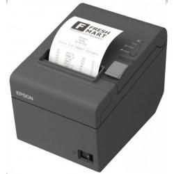 EPSON TM-T20II pokladní tiskárna, USB/LAN, tmavá, řezačka, se zdrojem C31CD52007