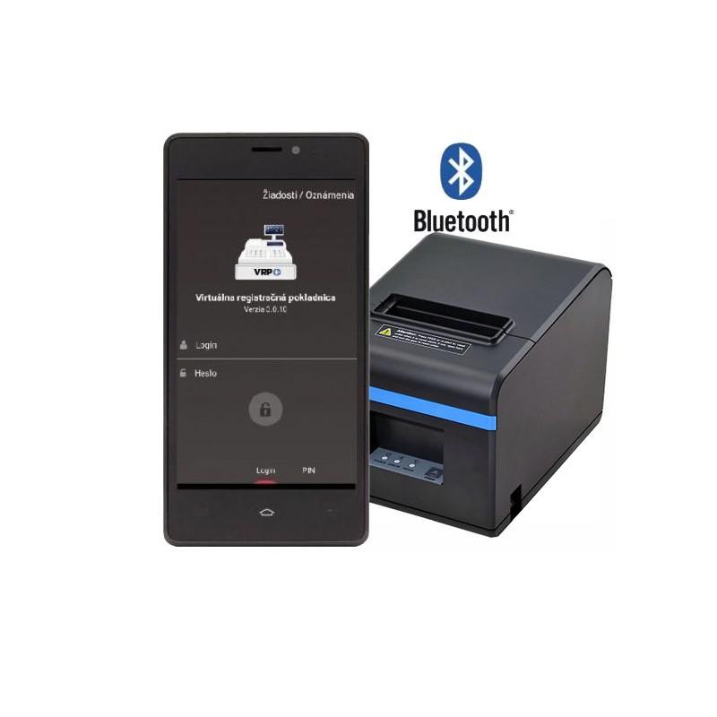 Tlačiareň ExVan N80II Bluetooth+USB VRP