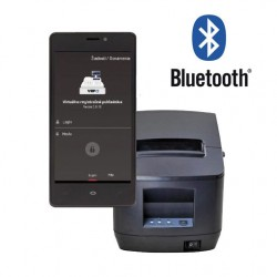 Tlačiareň ExVan V80L USB + Bluetooth VRP s licenciou