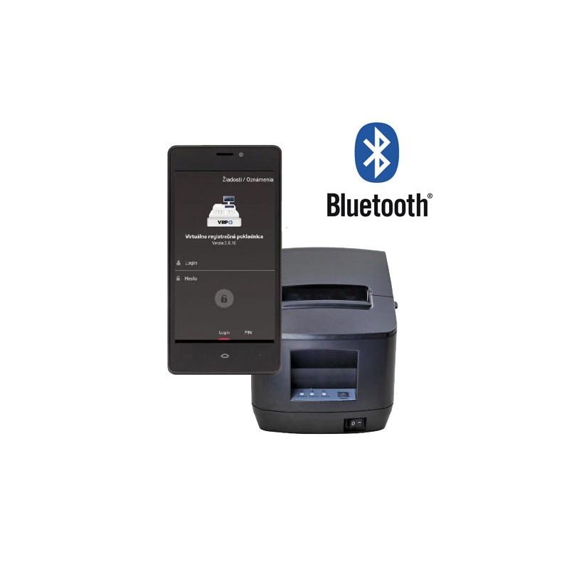 Tlačiareň ExVan V80L USB + Bluetooth VRP