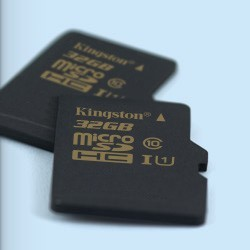 64 GB microSDXC karta Kingston UHS-I Class 1 (U1) + adaptér (90R/45W) SDCA10/64GB