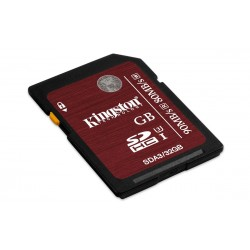 256 GB SDHC/SDXC karta Kingston Class 10 UHS-I U3 (r90MB/s, w80MB/s ) SDA3/256GB