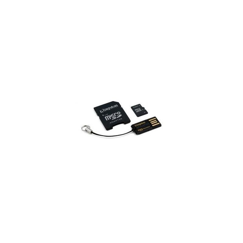 8 GB microSDHC Karta Kingston class 4 + MicroSD čítačkou + Adaptér (w10MB/s) MBLY4G2/8GB
