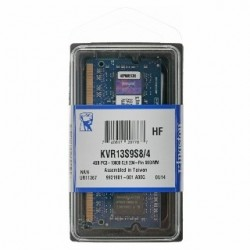 SO DIMM KINGSTON DDR3 4GB 1333Mhz KVR13S9S8/4